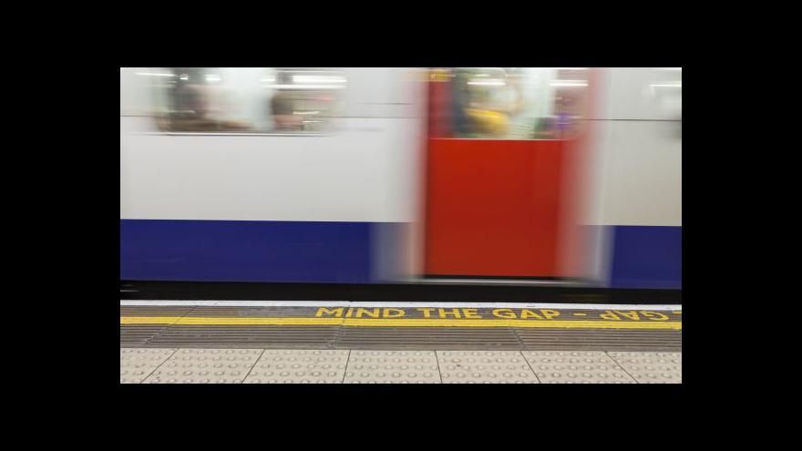Video Bohumil Vostal o změnách v londýnském metru