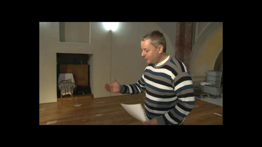Video Martin Bejček popisuje budoucí podobu varhan
