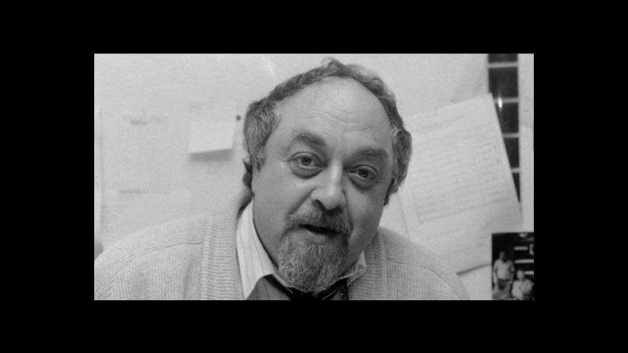 Video Bývalý místopředseda vlády Pavel Mertlík o Egonu Lánském
