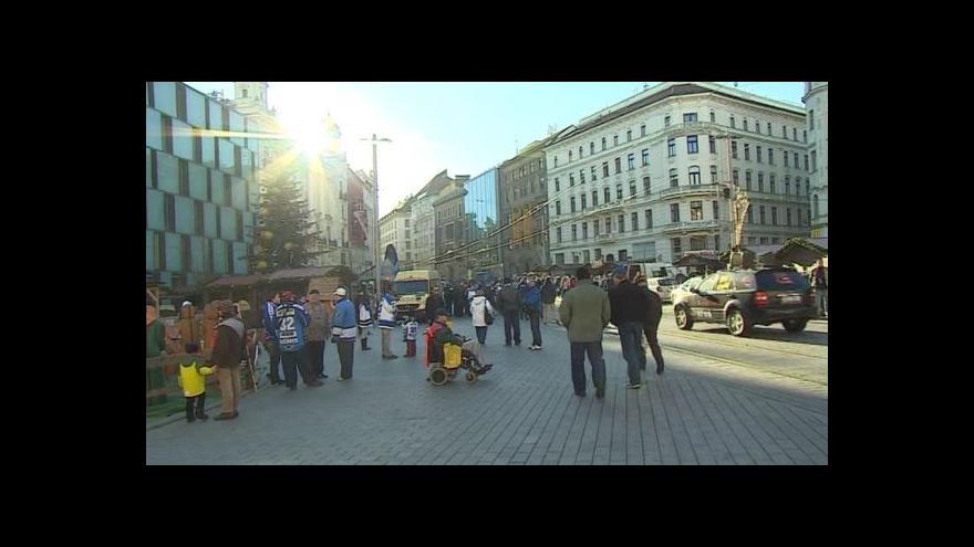 Video NO COMMENT: Oslavy výročí hokejové Komety