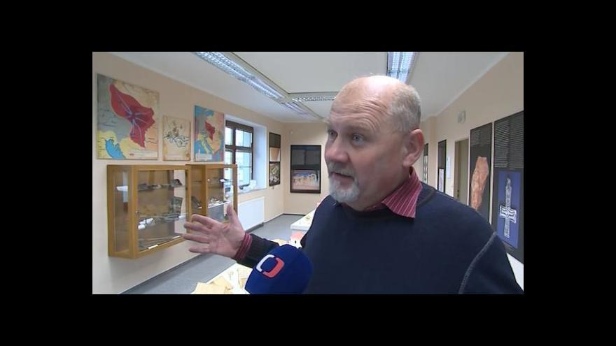 Video Novou expozici popisuje archeolog Luděk Galuška