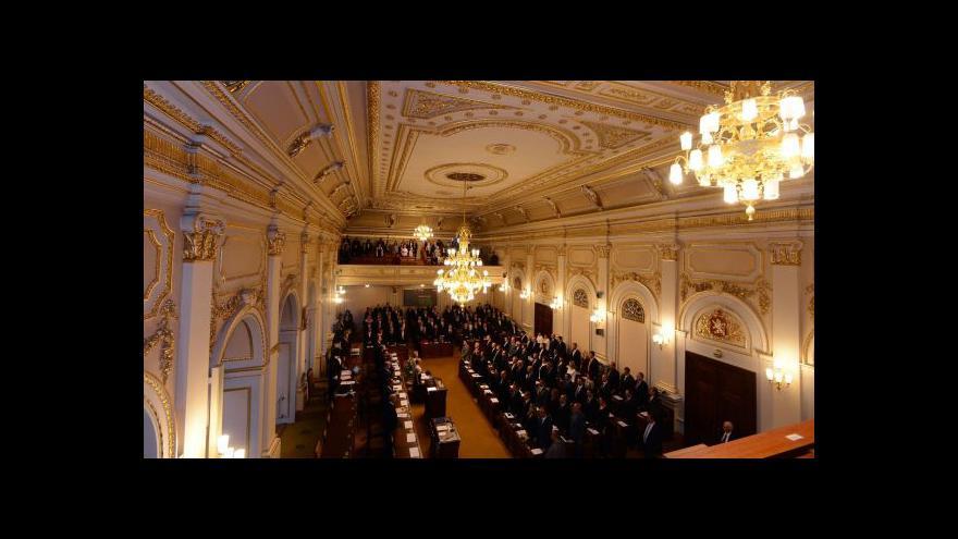 Video Předsedové poslaneckých klubů hosty Událostí, komentářů