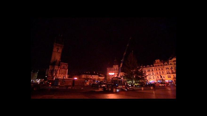 Video Studio 6 o vánočním stromu na Staroměstském náměstí