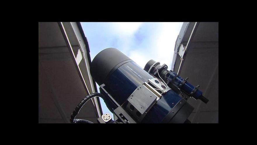Video Ondřejovští astronomové zachytili gama záření jako první