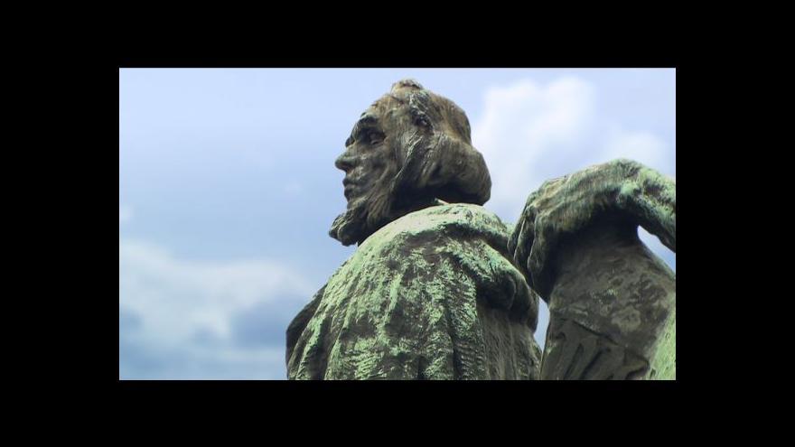 Video Restaurování pomníku mistra Jana Husa