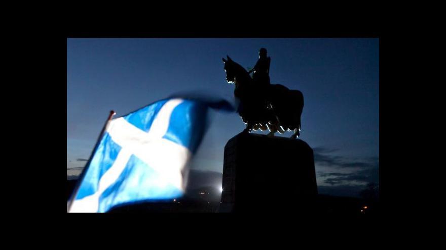 Video Skotské referendum se blíží