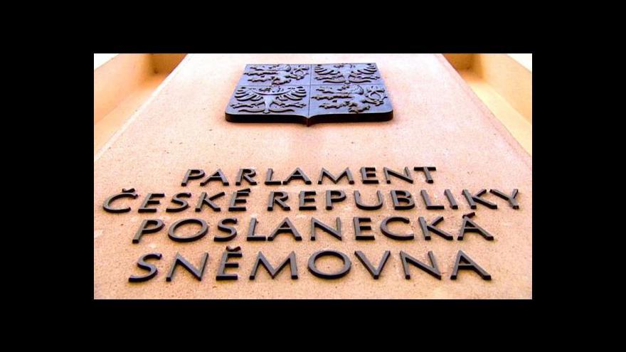Video Záznam první části ustavující schůze PSP ČR
