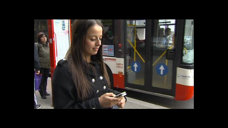 Video Filip Zdražil o SMS jízdenkách