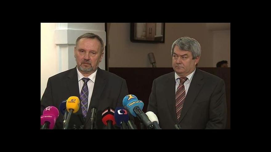 Video Brífink KSČM před ustavující schůzí sněmovny