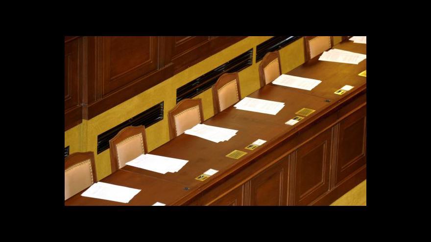 Video Vedení sněmovny se rýsuje
