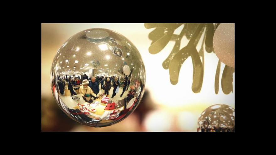 Video Předvánoční nákupy tématem Událostí