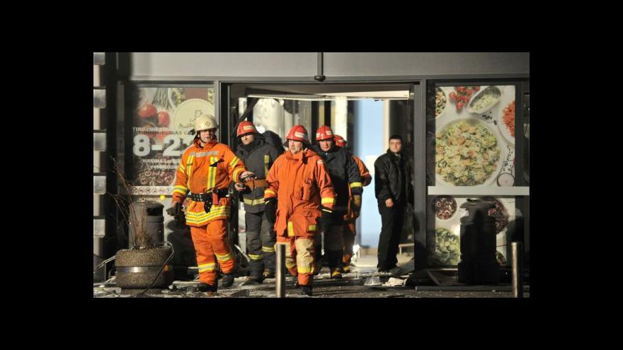 Video Záchranné práce v Lotyšsku