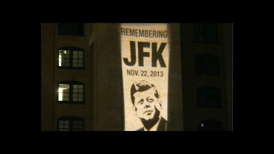 Video Dallas si připomíná 50 let od zabití JFK