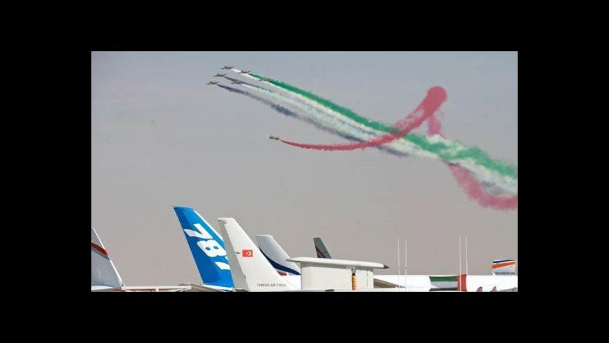 Video Letecká show v Dubaji