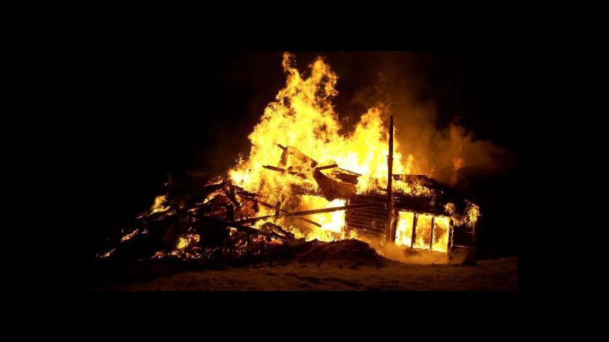 Video O sérii požárů hovoří mluvčí hasičů Libor Netopil