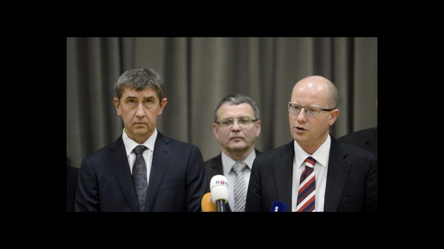 Video ANO podmiňuje svou účast ve vládě