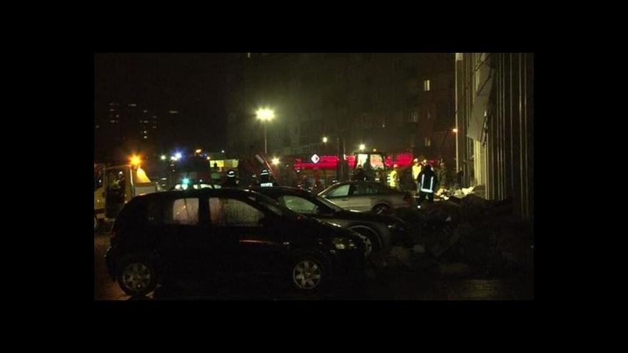 Video V Rize se zřítila budova obchodního centra