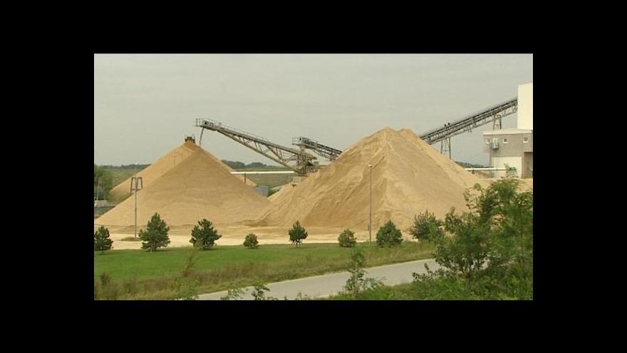 Video David Havlena o těžbě štěrkopísku na Klatovsku