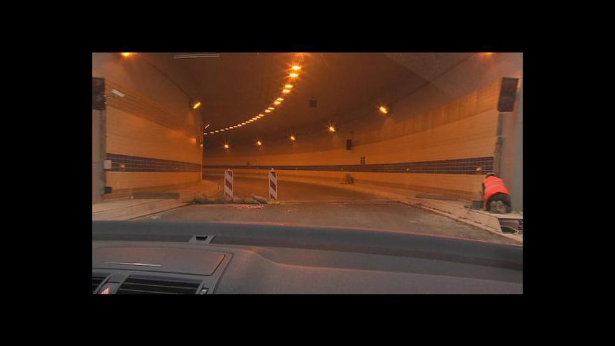 Video Práce na tunelu Blanka se zastaví