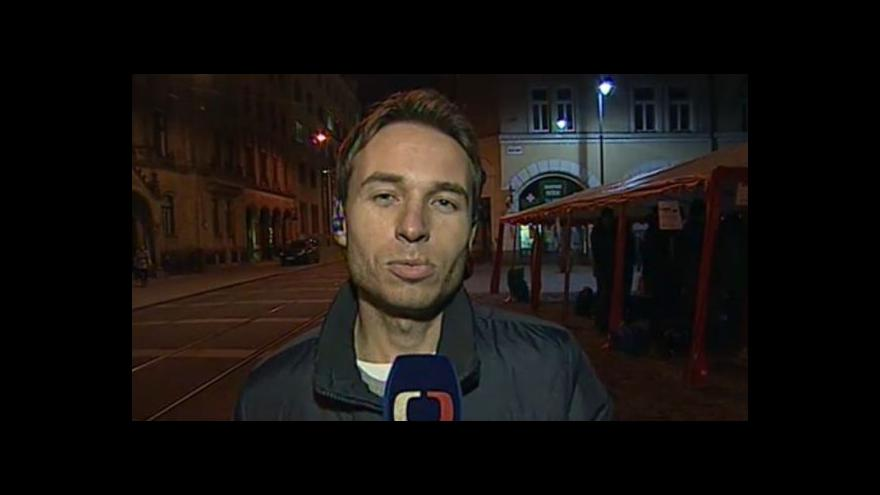 Video Vstup Filipa Zdražila o noci, kterou strávil venku