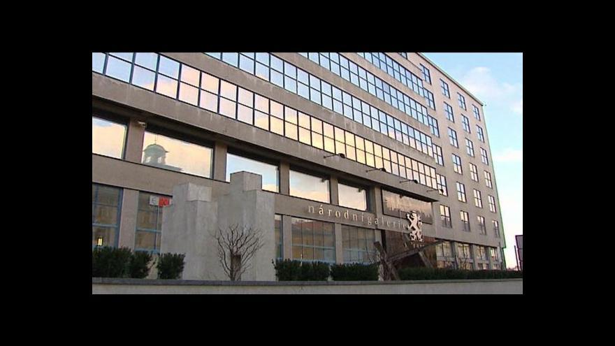 Video Vojtěch Lahoda k situaci v Národní galerii
