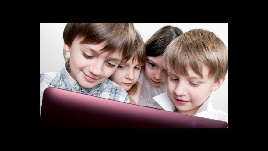 Video Horizont ČT24 o špatné kondici dnešních dětí