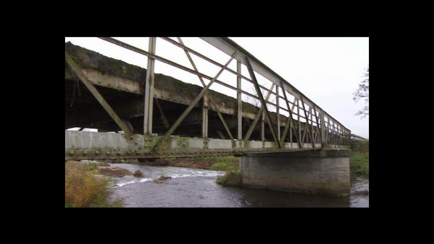 Video Přemysl Šrámek o mostech u Pamětníku