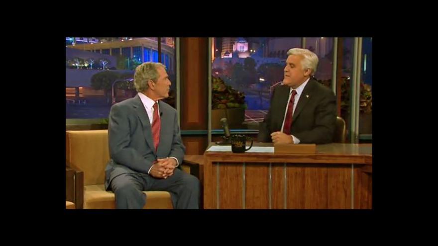 Video George Bush u Jaye Lena