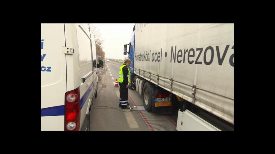 Video Michal Klokočník o přetížených kamionech