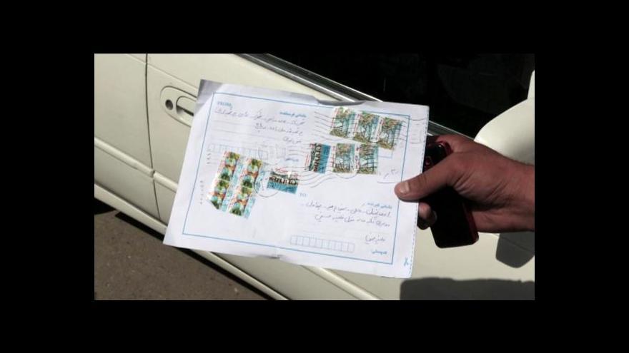 Video Horizont ČT24 o pošťácích v Kábulu