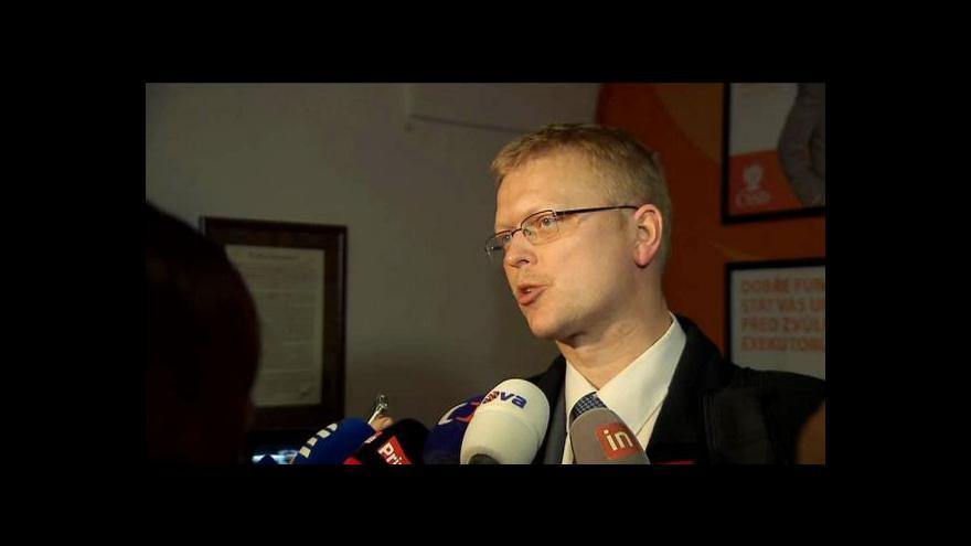 Video Vyjádření Pavla Bělobrádka po schůzce s Bohuslavem Sobotkou