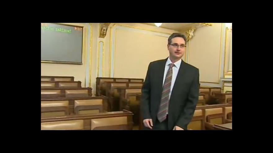 Video Nováčkem ve sněmovně