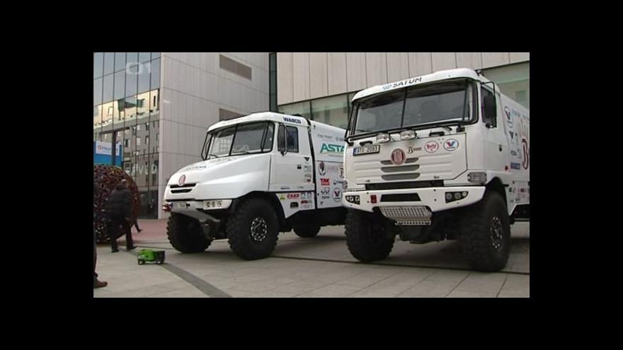 Video Český týmy představily speciály pro nadcházející Rallye Dakar