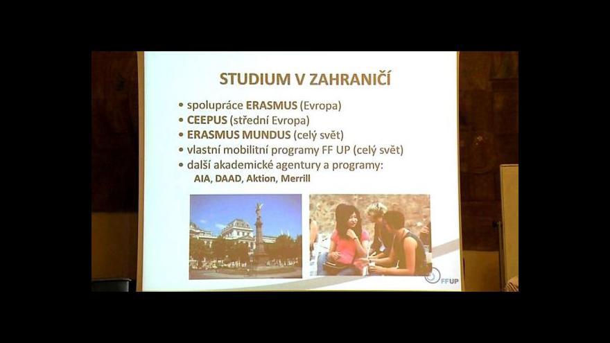 Video Erasmus tématem Událostí v regionech