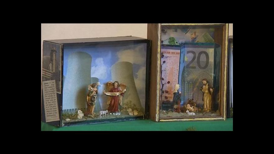 Video Kristina Vrkočová o výstavě betlémů