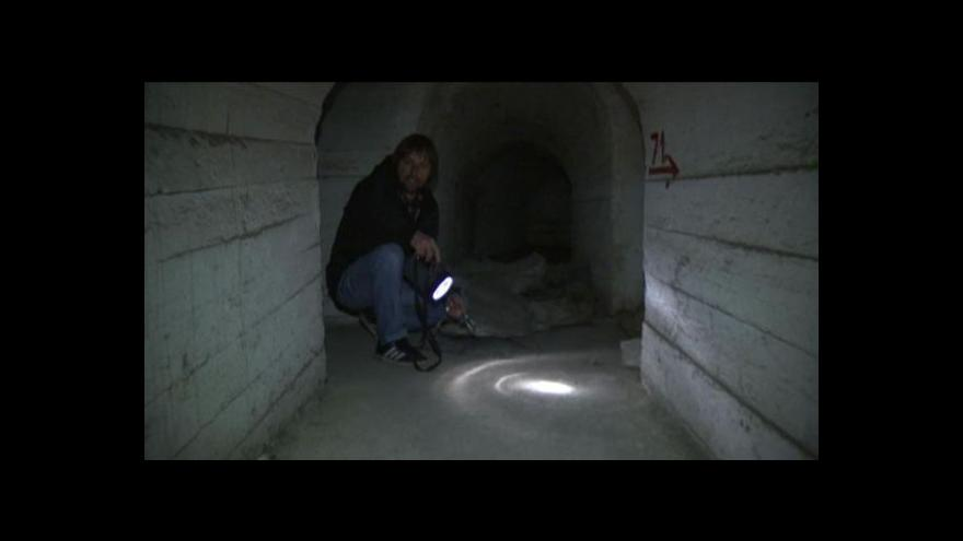 Video Radovan Daněk o telčském podzemi