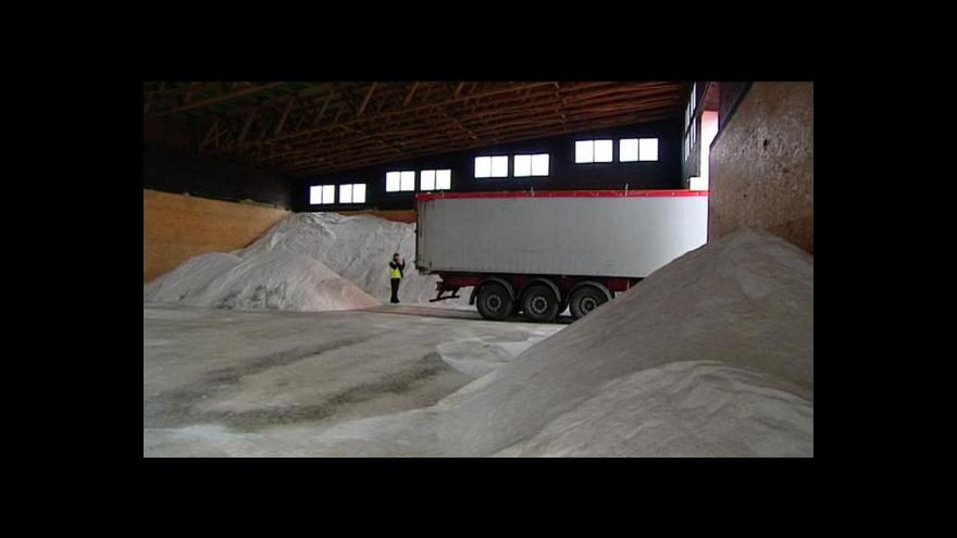 Video Antonín Bruštík o údržbě silnic v Krušných horách