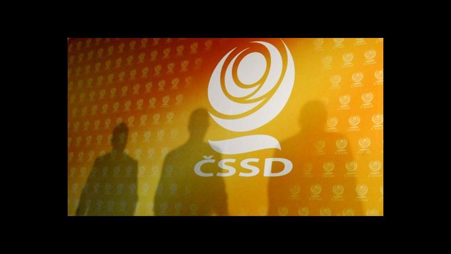 Video Brífink po jednání poslaneckého klubu ČSSD