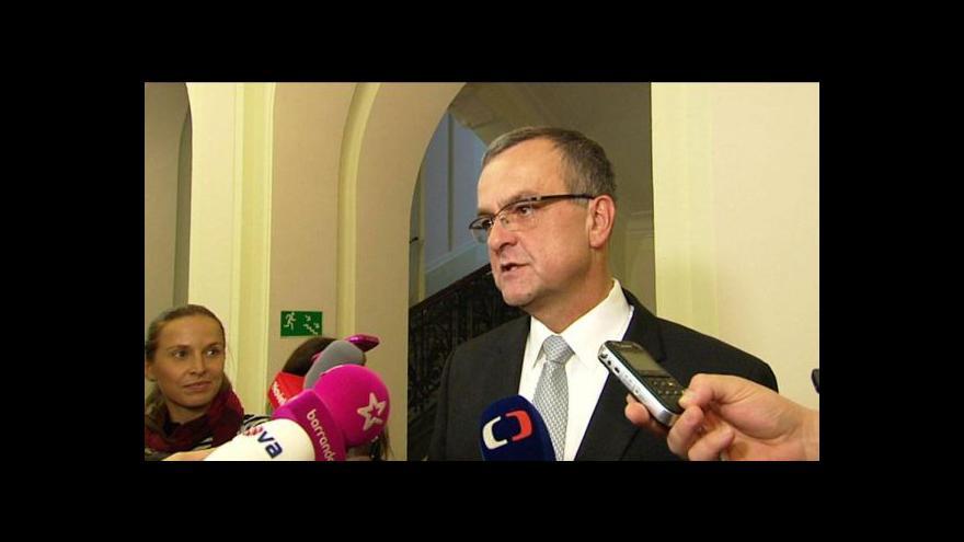 Video Rozhovor s Miroslavem Kalouskem po jednání soudu