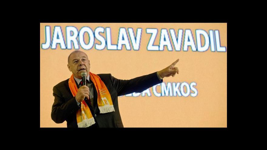 Video Brífink po jednání sněmu ČMKOS