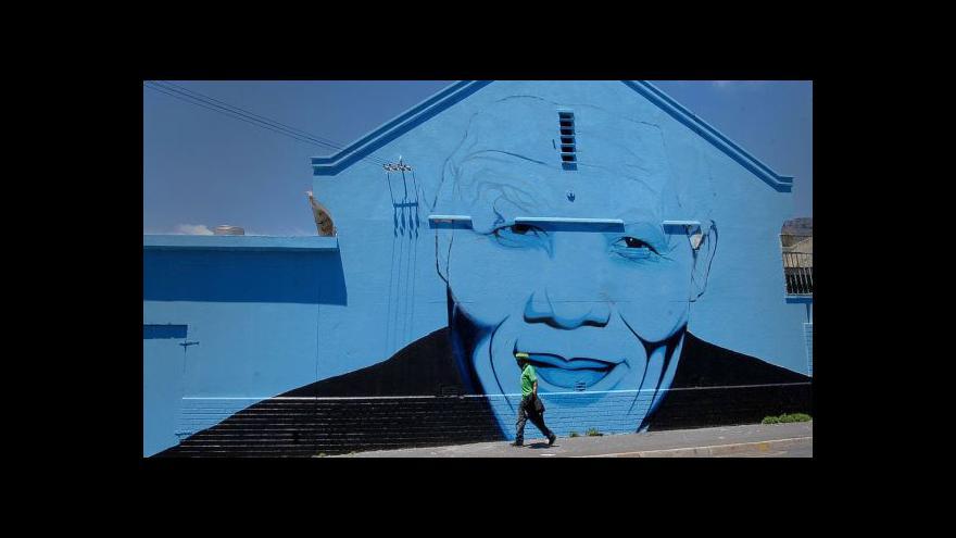 Video V JAR otevřeli stálou expozici Nelsona Mandely