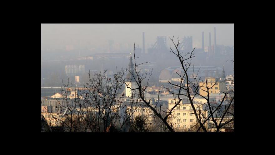 Video Stromy proti prachu v Ostravě