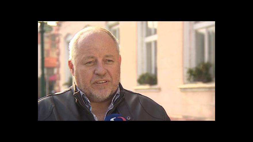Video O opravách západního křídla hovoří starosta Libor Kabát