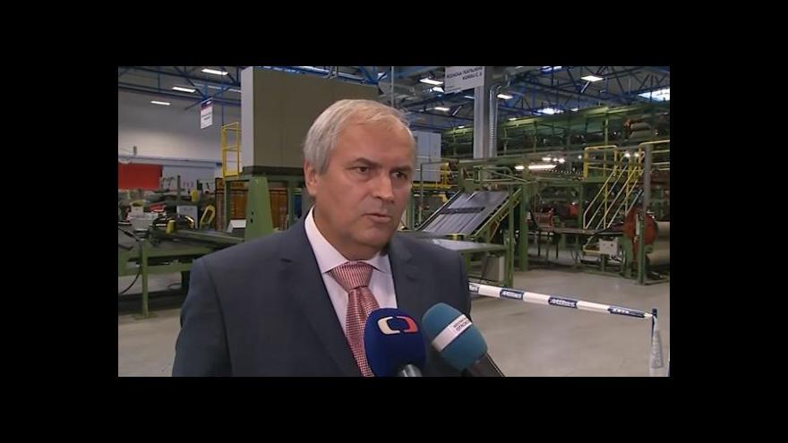 Video Hovoří generální ředitel Mitasu Jaroslav Čechura