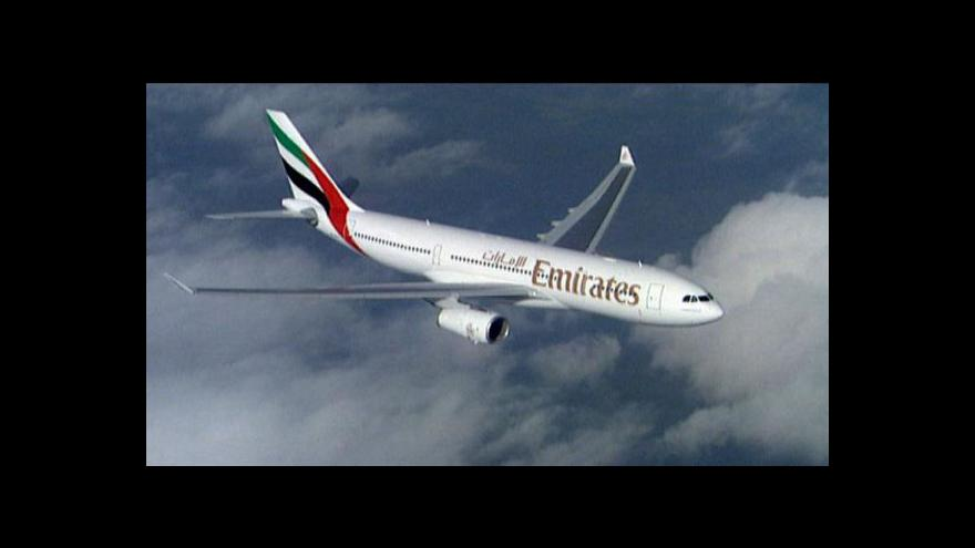 Video Emirates nakoupily letadla za 76 miliard dolarů
