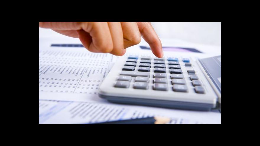 Video Události, komentáře o jednání o daních