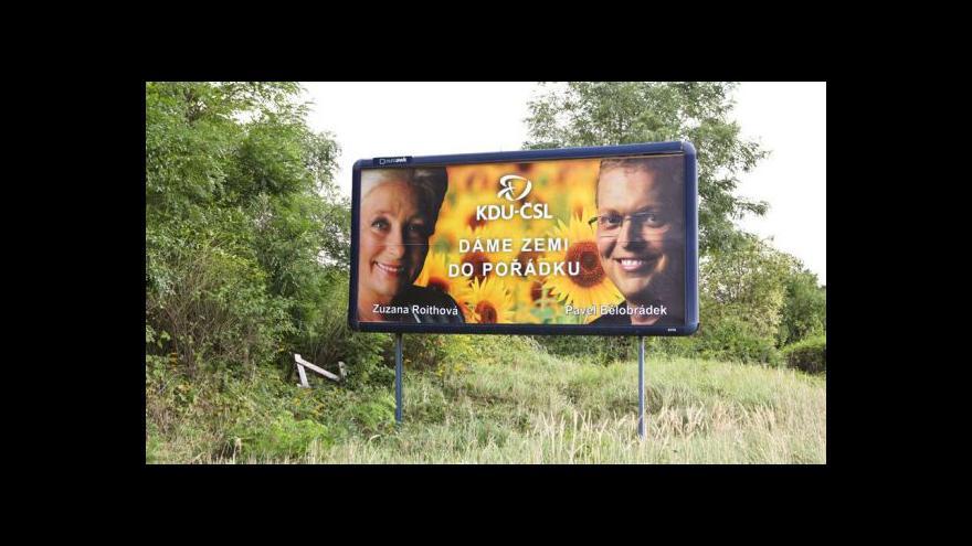 Video Účty za volební kampaně