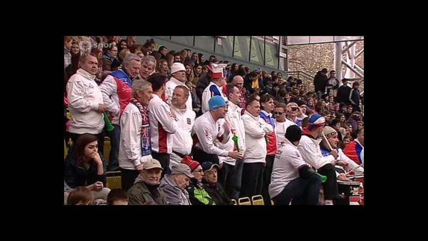 Video Tenisty přívitalo v Prostějově na 2 000 lidí