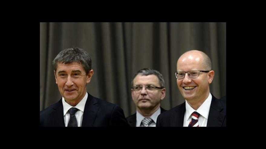 Video Události o koaličním vyjednávání