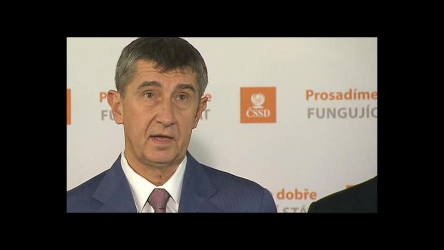 Video ČSSD jednalo s ANO 2011